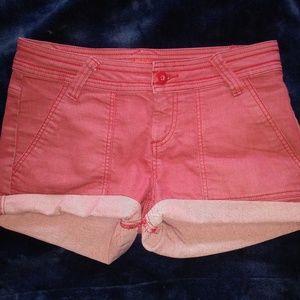 Prana Red Shorts